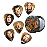 Iron maiden Set of 6 Loose Guitar Picks in Tin ( Collection E )
