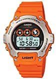 Casio #W214H-4AV Men's Chronograph Alarm LCD Digital Sports Watch