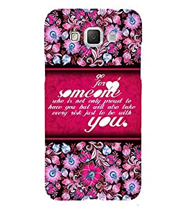 Go For Love Someone 3D Hard Polycarbonate Designer Back Case Cover for Samsung Galaxy Grand Max G720