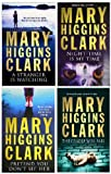 MARY HIGGINS CLARK MARY HIGGINS CLARK FOUR BOOK SET COLLECTION / THE CRADLE WILL FALL / PRETEND YOU DON'T SEE HER / NIGHT-TIME IS MY TIME / A STRANGER IS WATCHING
