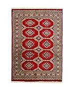 CarpeTrade Alfombra Kashmir Bokhara (Rojo/Multicolor)