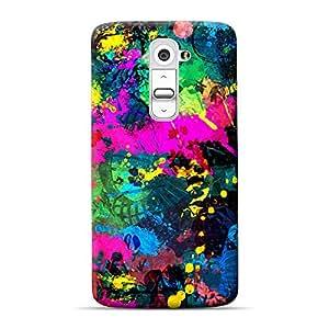 Mobile Back Cover For LG G2 (Printed Designer Case)