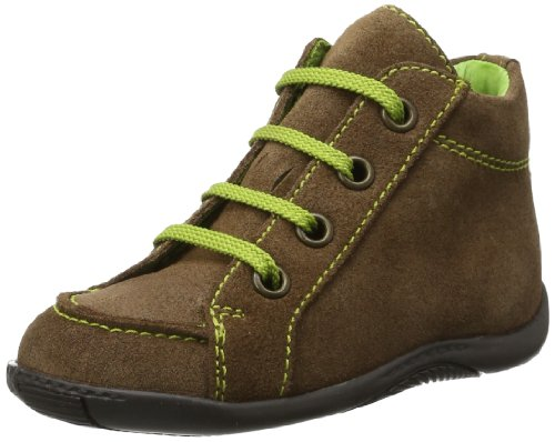 Däumling Baby Timmy Baby Shoes Brown Braun (Bronx hotdog) Size: 25