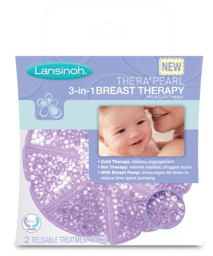 Best Review Of Lansinoh TheraPearl 3-in-1 Breast Therapy