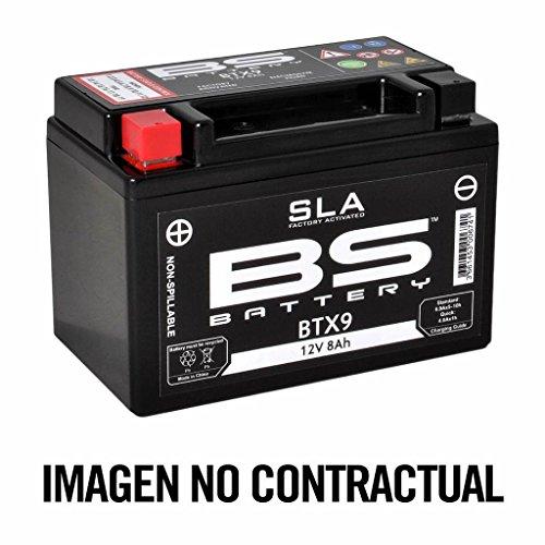 BS Battery 300771 BB16CL-B AGM SLA Motorrad Batterie , Schwarz