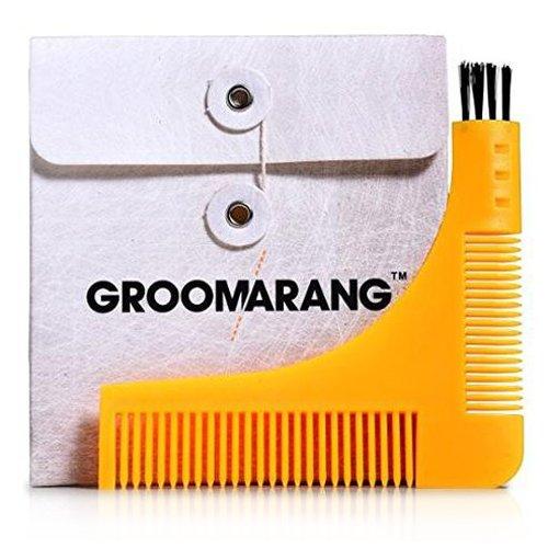 groomarang Bart Styling und Gestaltung Vorlage Kamm Werkzeug