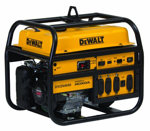 Dewalt Dxgn4500 4500 Watt Commercial Generator With Recoil Start