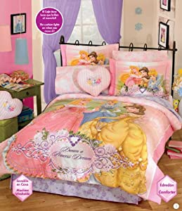 Princess Diamond Comforter Bedding Set Full