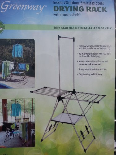 Outdoor Clothes Dryer Rack front-126050