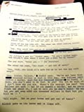 img - for HICKOK - Rewrite Notes by Roy Huggins rough for Jo Swerling dictated 5/14/74 book / textbook / text book
