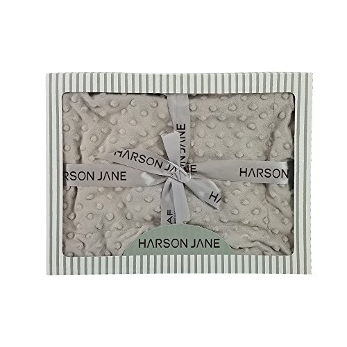 Harson&Jane Morbida Lana Unisex Piccola Bolla Coperta Accappatoio Fasce Wrap Fasciare 80 × 110cm per Bambino Neonato (80×110cm(31×43)inch, 02)