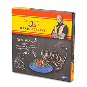 Petmate jackson galaxy go fish cat toy pet for Jackson galaxy cat toys