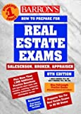 img - for Barron's How to Prepare for the Real Estate Examination: Salesperson, Broker, Appraiser (Barron's How to Prepare for Real Estate Licensing Examinations) by J. Bruce Lindeman (2000-01-03) book / textbook / text book