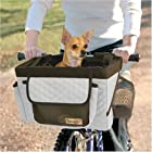 Dog Bike Basket - Pet Bicycle Seat- Gray