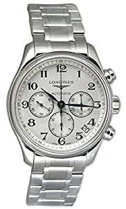 Longines Master Collection Automatic Chronograph Steel Mens Watch Calendar L2.759.4.78.6