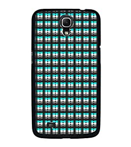 Fuson Premium 2D Back Case Cover Black pattern With Brown Background Degined For Samsung Galaxy Mega 6.3 i9200::Samsung Galaxy Mega 6.3 i91200