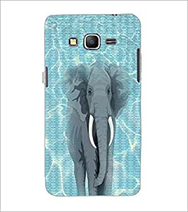 PrintDhaba Elephant D-5013 Back Case Cover for SAMSUNG GALAXY GRAND PRIME (Multi-Coloured)