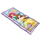 Disney Youth Princess Sleeping Bag with 2.0-Pound Fill, 28 x 56-Inch