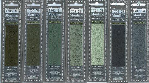 Sticktwist 10 m Farbe: 1703 10 m Madeira Garne # 0171703 NEU in OVP