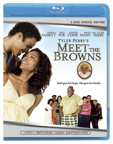 Cover art for  Tyler Perry's Meet The Browns [Blu-ray] + Digital Copy