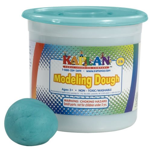Modeling Dough Turquoise