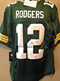 Aaron Rodgers Green Bay Packers Signed Autograph Nike Jersey Steiner Sports Certified