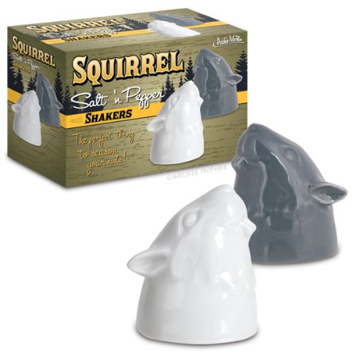 Accoutrements Squirrell Salt and Pepper Shakers