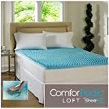 Beautyrest 3-inch Sculpted Gel Memory Foam Mattress Topper Queen