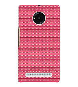 Love Symbols Pattern 3D Hard Polycarbonate Designer Back Case Cover for YU Yureka Plus
