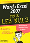Word et Excel 2007 pour les Nuls