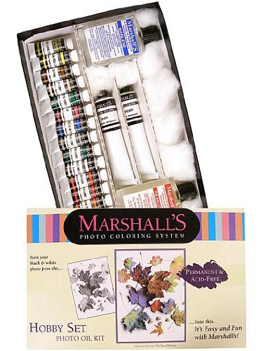 Marshall's Hobby Oil Set Photo Coloring System photo oil kit