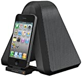 XtremeMac Soma Stand Fold 'n Go Portable Audio and Charging Dock for iPhone 3, 3GS, 4, 4S & iPad 1, 2 & 3, Mains or Battery Powered