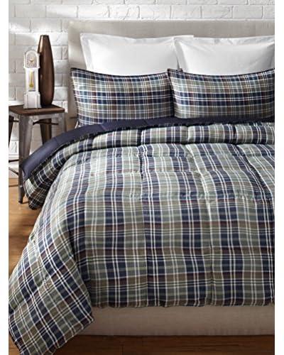 Eddie Bauer Rugged Plaid Comforter/Sham Set