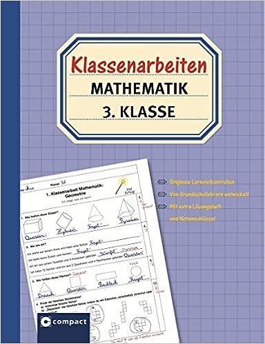 klassenarbeiten mathematik 3 klasse originale