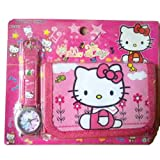 Toy - Hello Kitty Watch &amp; Wallet combo girls birthday present gift