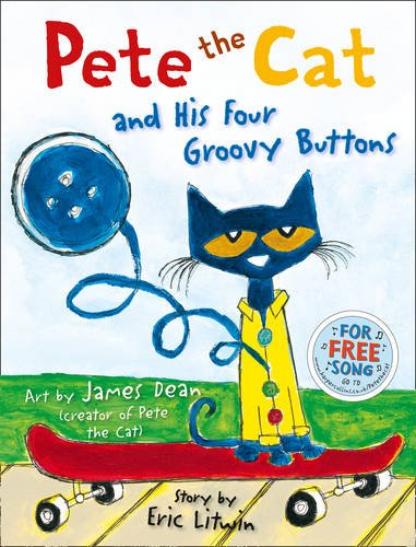 Pete The Cat And Four Groovy Buttons Video