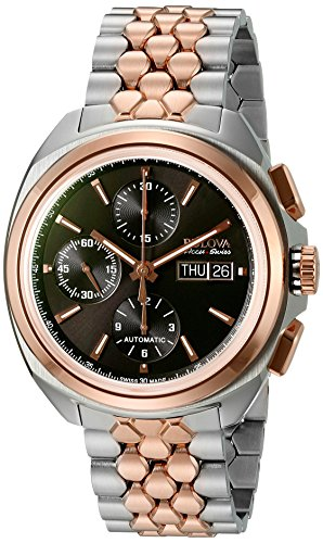 Bulova-Accu-Swiss-Mens-65B168-Mechanical-Hand-Wind-Two-Tone-Watch