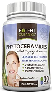 #1 Phytoceramides ★ Premium Quality Plant Delivered - 100% All Natural | GLUTEN FREE | Clinically Proven Ingredients | Skin Restoring Supplement for Ultimate Results ★ GET RESULTS OR YOUR MONEY BACK GUARANTEE
