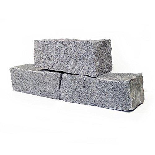 granit mauersteine 40 x 20 x 15cm in hellgrau 1000kg. Black Bedroom Furniture Sets. Home Design Ideas