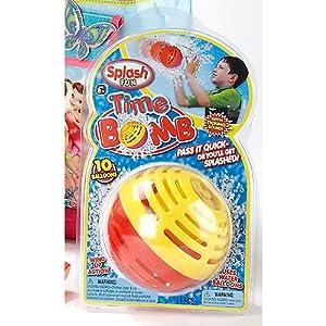 Amazon.com: Splash Fun Water Bomb (Colors May Vary): Toys & Games