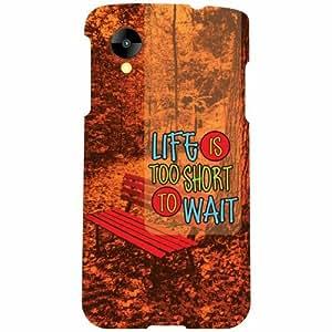 Printland LG Nexus 5 LG-D821 Back Cover High Quality Designer Case