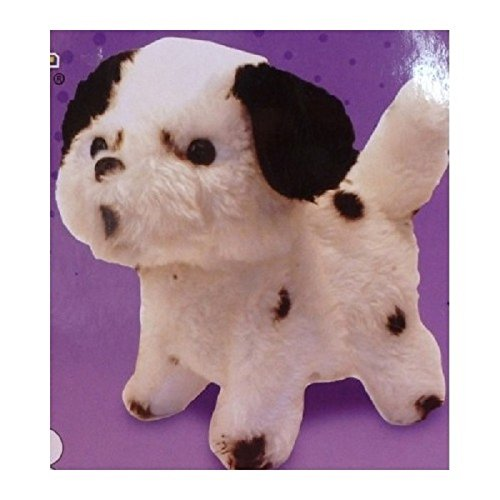 Play Right Remote Control Puppy - White with Black