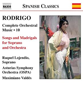 Rodrigo - Complete Orchestral Music Vol 10 from Naxos