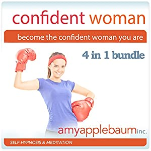 Become the Confident Woman You Are - Self-Hypnosis and Meditation 4 in 1 Bundle Speech