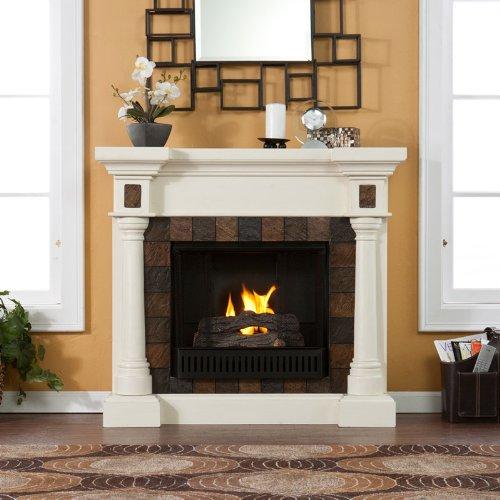 Sei Carrington Convertible Gel Fuel Fireplace