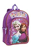 Disney Frozen Anna & Elsa Girls Sparkle Backpack - 16