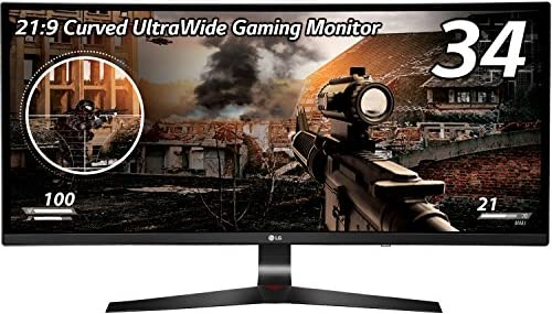 LG 34UC79G-Bゲーミング ディスプレイ モニター 34インチ/21:9 曲面 Ultra Wide/IPS 非光沢/144Hz/DisplayPort×1,HDMI×2