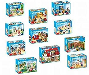 New playmobil city 4279 to 4289 suburban house set amazon for 4279 playmobil