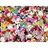 20pc Assorted Mini Size Bows, Panda, Cake, Chocolate, Monsters, Sundae, Cupca...