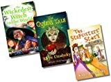 Kaye Umansky Barrington Stoke Kaye Umansky's Fractured Fairy Tale Fiction Collection (Dyslexia Friendly) - 3 Books RRP £17.97 (Queen's Tale; Stepsisters' Story; Wickedest Witch in the World)